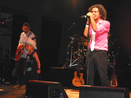 Legendary Mexican rock band Cafe Tacuba rocked the Prospect Park Bandshell in the 2003 edition of Celebrate Brooklyn! (Photo by SPM. All rights reserved.)