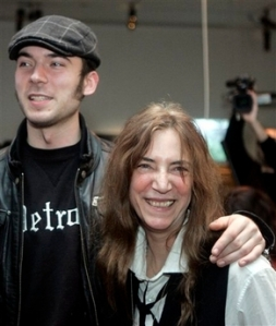 Jackson Smith and his mom, Patti.