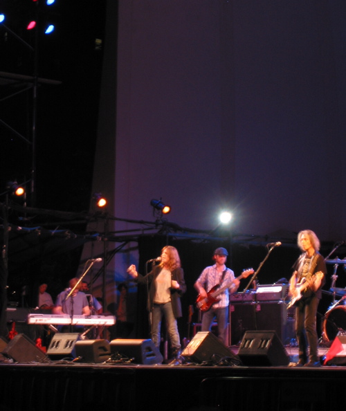 Patti Smith at Lincoln Center Out of Doors 2008.