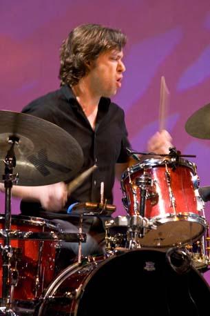 Percussionist David Cossin (Photo by CMM)