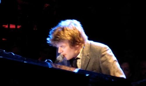 Doveman LPR at piano