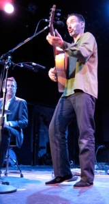 Tommy Larkins and Jonathan Richman. (Copyright 2009, Steven P. Marsh)