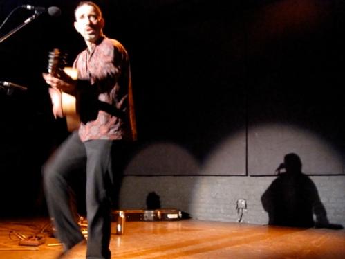 Jonathan's shadow dances too.