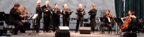"""Ethel String Quartet and Lionheart performing the otherworldly """"John the Revelator"""" by Phil Kline. (All photos by SPM except as noted. All rights reserved.)"""