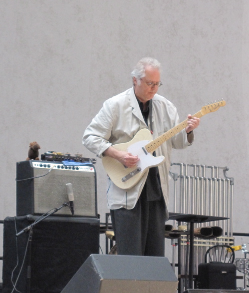 Bill Frisell riffs as the birds chirp.