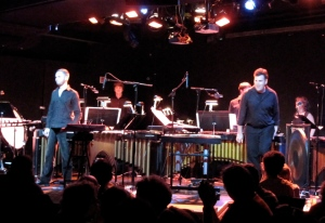 Six of Signal's musicians performed Sextet, the 1985 predecessor to Reich's Pulitzer-winning composition.