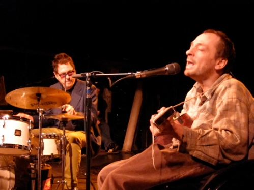 Tommy Larkins joins Vic Chesnutt for a few songs.