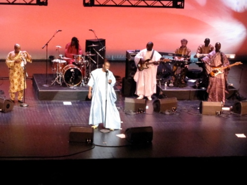 Youssou and band