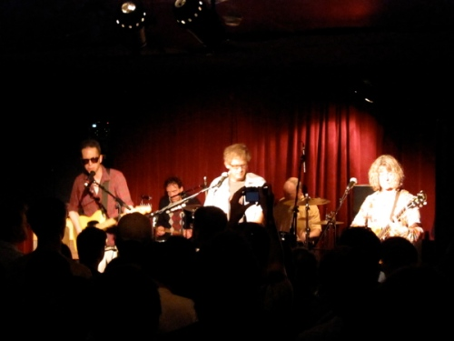 Sold out: Maxwell's music room was packed.