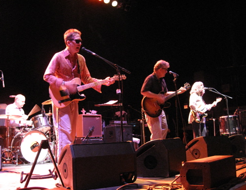 The Feelies open for Yo La Tengo at the Wellmont Theater in Montclair, N.J., on New Year's Eve 2008.