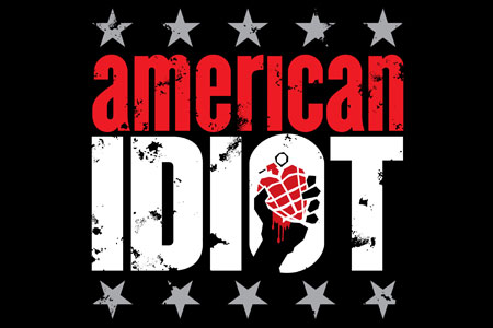 'American Idiot' April 2010 St James Theatre, New York