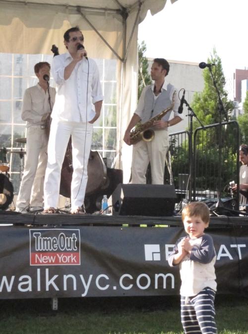 Roosevelt Live Lipton and little boy