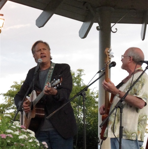 Tom Chapin and Michael Mark.
