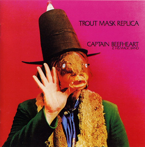 The cover for Trout Mask Replica, one of Captain Beefheart's most bizarre and memorable images.