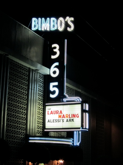 Bimbo's 365 Club (© 2011, Steven P. Marsh)
