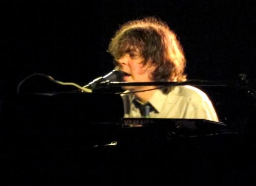 Jon Brion on piano.