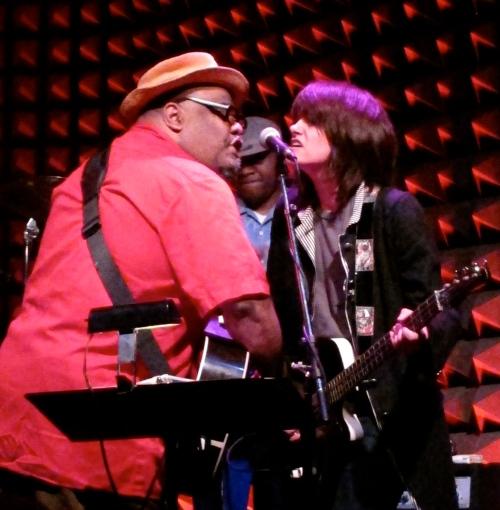 Stew & Heidi Rodewald at Joe's Pub in New York City. (Photos © 2012, Steven P. Marsh)