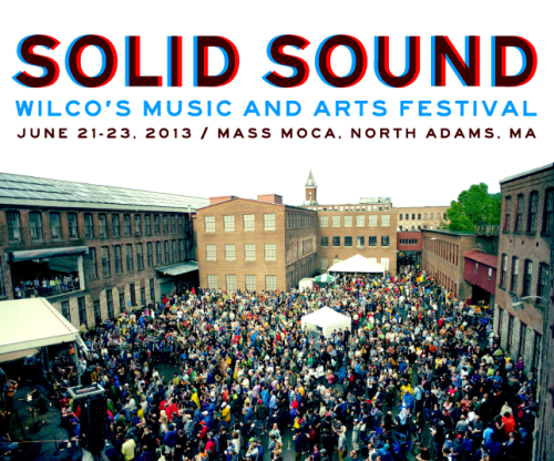 A view of the Solid Sound Festival at MASS MoCA.