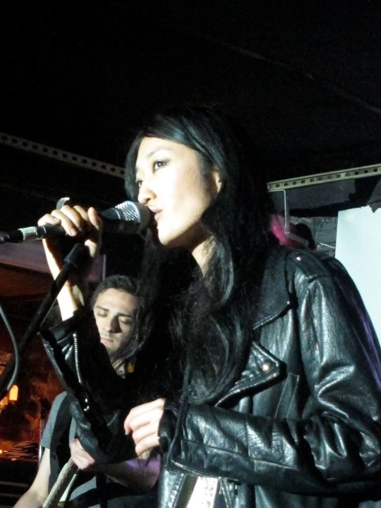 Jihae performs at the Mercury Lounge. (Photo © 2012, Steven P. Marsh/willyoumissme.com)
