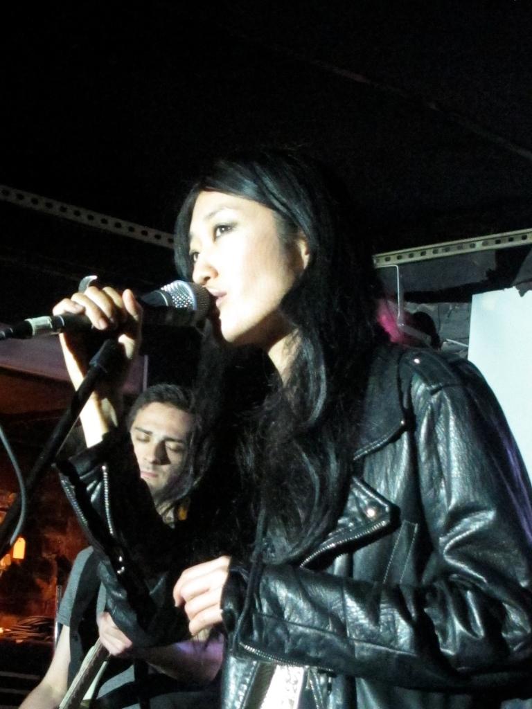 Jihae performs at the Mercury Lounge. (Photo © 2012, Steven P. Marsh/willyoumissme.com)