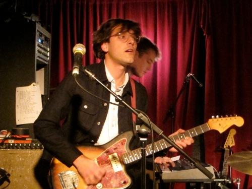 Real Estate guitarist Matt Mondanile.