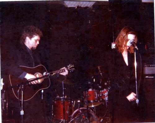 Sam Phillips recently posted on her Facebook page this picture of her performing at Maxwell's in 1988 with singer-songwriter Mark Heard on guitar.