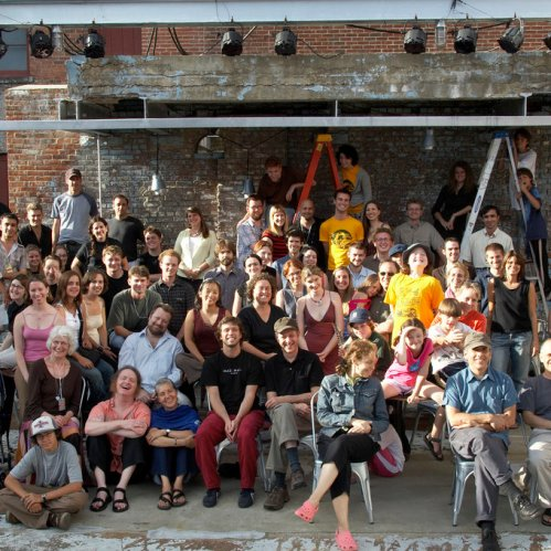 A group shot from a previous year's Summer Music Festival.