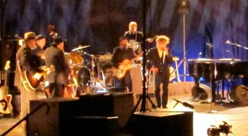 Bob Dylan at the Webster Bank Arena, Bridgeport, Conn., on July 19, 2013.(Photo © 2013, Steven P. Marsh)