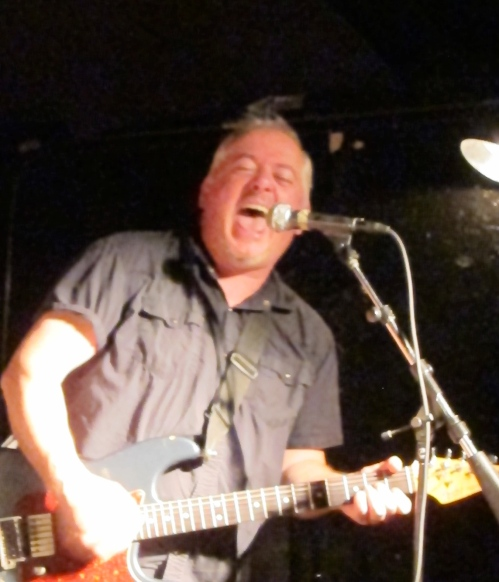 Jon Langford kicks out the jams at Maxwell's. (Photo © 2013, Steven P. Marsh)