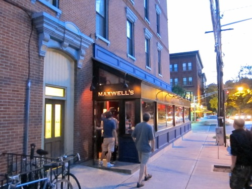 Patrons enter Maxwell's at 11th and Washington streets in Hoboken, N.J., on July 5, 2013, (Photo © 2013, Steven P. Marsh)