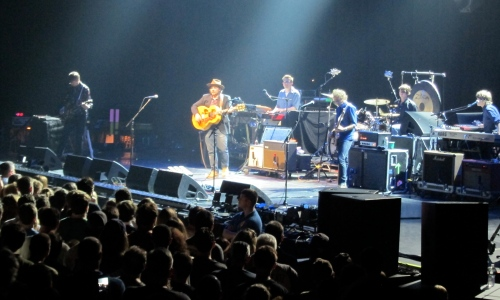 Wilco at the Webster Bank Arena, Bridgeport, Conn., on July 19, 2013.(Photo © 2013, Steven P. Marsh)