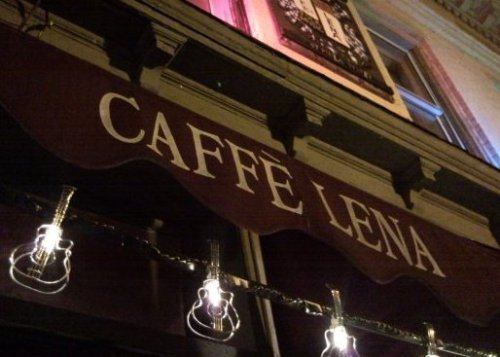 The exterior of Caffè Lena. (Facebook)