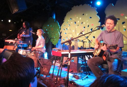 Yo La Tengo started with a quiet set in front of some tree props. (Photos © 2013, Steven P. Marsh/willyoumissme.com)