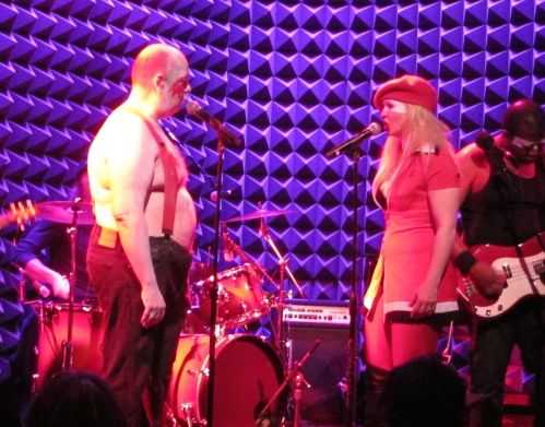 Tony Torn and Julie Atlas Muz.