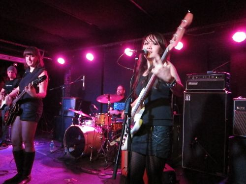 Brooklyn's Party Lights did a spirited job of opening for Holly Golightly & The Brokeoffs.