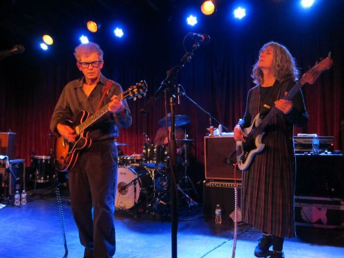 Guitarist Bill Million and bassist Brenda Sauter.