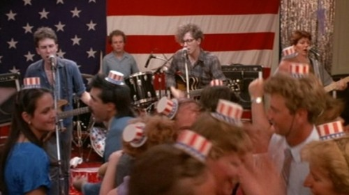 "The Feeles perform as The Willies in Jonathan Demme's 1986 movie ""Something Wild."""