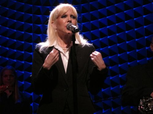 Tammy Faye Starlite channels Marianne Faithfull at Joe's Pub. (Photo © 2014 Steven P. Marsh/willyoumissme.com)