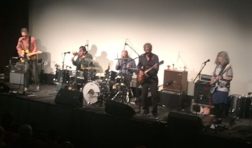 The Feelies onstage at the Jacob Burns Film Center in Pleasantville, N.Y., on Sunday, June 1, 2014.