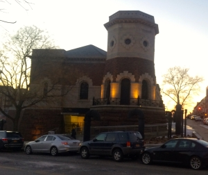 The Gatehouse, a Romanesque Revival former water pumping station that's home to Harlem Stage. (© 2015, Steven P. Marsh/willyoumissme.com)