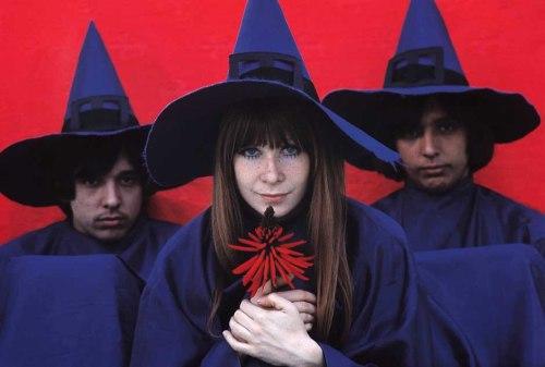 Os Mutantes 1968: Arnaldo Baptista, Rita Lee, and Sérgio Dias Baptista.