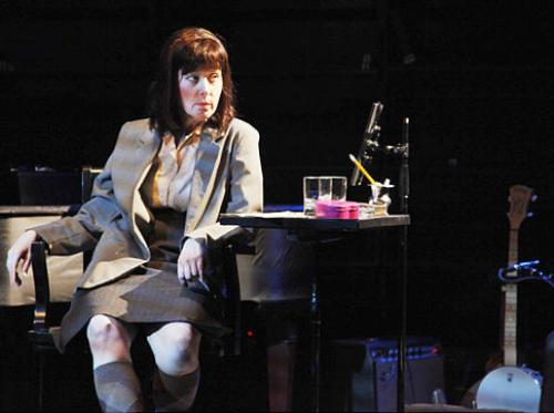 Suzanne Vega onstate as novelist Carson McCullers.