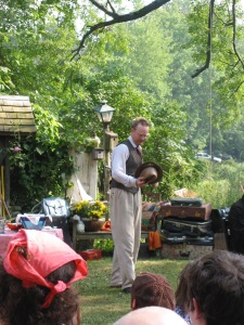 "Bill Irwin as the title character in ""Uncle Vanya"" at Lake Lucille, NY, in 2007. (©2007 Steven P. Marsh/willyoumissme.com)"