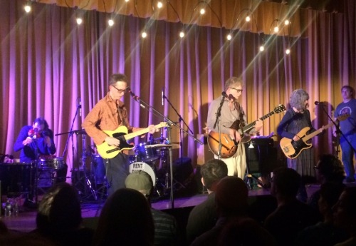 The Feelies celebrate their 40th anniversary at The Woodland in Maplewood, New Jersey. (Copyright 2016, Steven P. Marsh/www.willyoumissme.com)