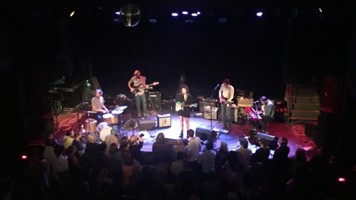 Molly Erin Sarlé and band open for Big Thief at Brooklyn's Music Hall of Williamsburg on Sept. 11, 2017. (Steven P. Marsh/willyoumissme.com)